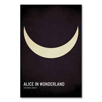 32'' x 22'' ''Alice in Wonderland'' Canvas Wall Art by Christian Jackson