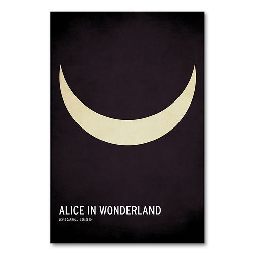 32'' x 22'' ''Alice in Wonderland'' Canvas Wall Art by Christian Jackson