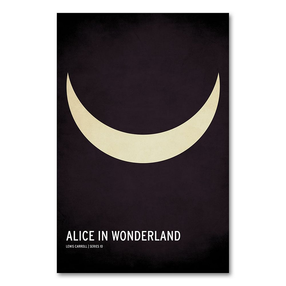 47'' x 30'' ''Alice in Wonderland'' Canvas Wall Art by Christian Jackson
