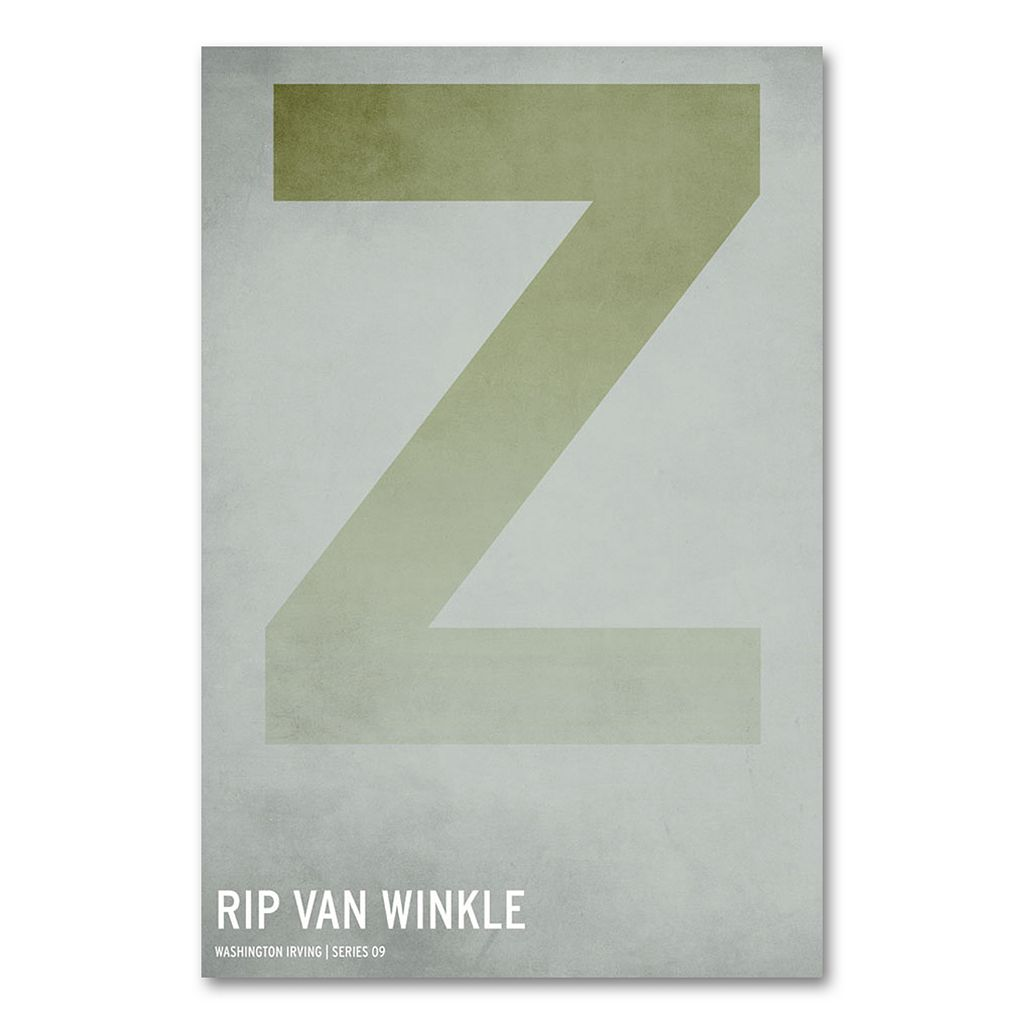 32'' x 22'' ''Rip Van Winkle'' Canvas Wall Art by Christian Jackson