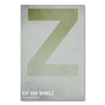 47'' x 30'' ''Rip Van Winkle'' Canvas Wall Art by Christian Jackson