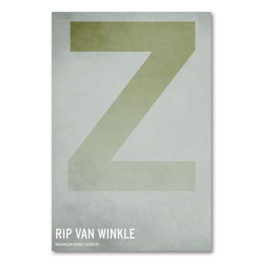 47 x 30 Rip Van Winkle Canvas Wall Art by Christian Jackson