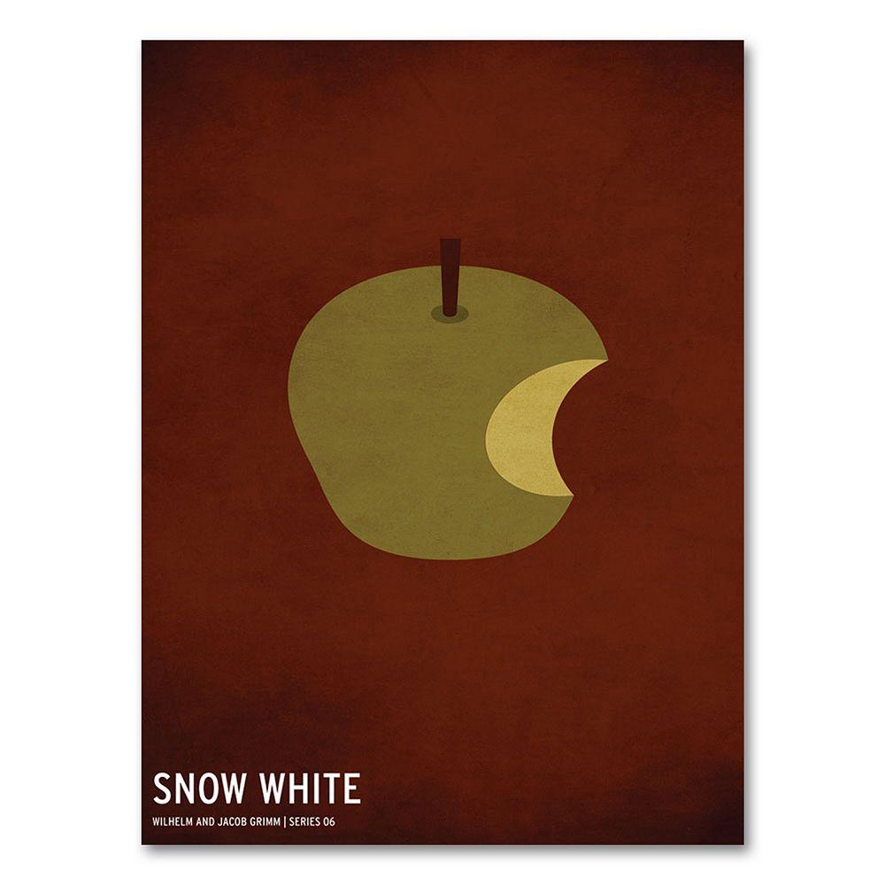 47'' x 30'' ''Snow White'' Canvas Wall Art by Christian Jackson