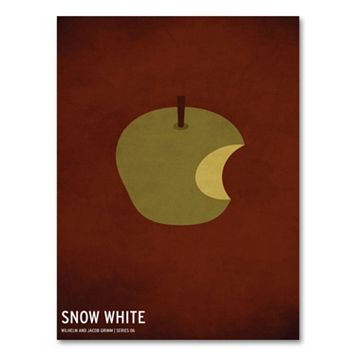 47'' x 30'' ''Snow White'' Canvas Wall Art by Christian Jackson