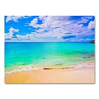 18'' x 24'' ''Maho Beach'' Canvas Wall Art by Preston