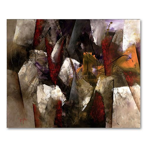 26'' x 32'' ''Abstract II'' Canvas Wall Art by Lopez