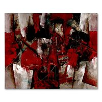 26'' x 32'' ''Abstract IV'' Canvas Wall Art by Lopez