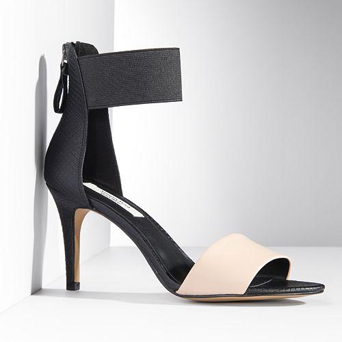Simply Vera Vera Wang Ankle Strap High Heels - Women