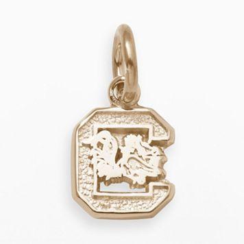 LogoArt South Carolina Gamecocks 14k Gold Logo Charm