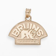 LogoArt Boston Bruins 14k Gold Logo Charm