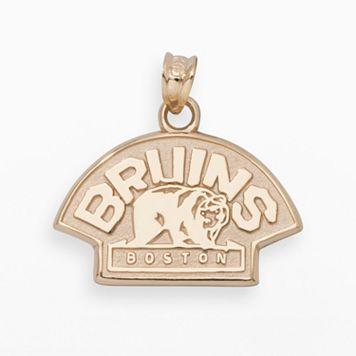 LogoArt Boston Bruins 14k Gold Logo Charm