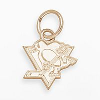 LogoArt Pittsburgh Penguins 14k Gold Logo Charm
