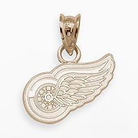 LogoArt Detroit Red Wings 14k Gold Logo Charm