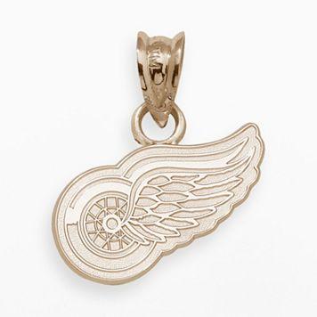 LogoArt Detroit Red Wings 14k Gold Logo Charm