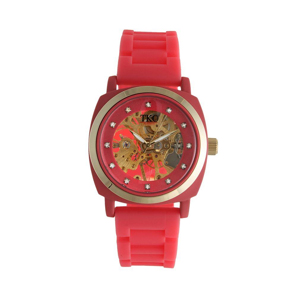 TKO Orlogi Women's Milano Mechanical Skeleton Watch