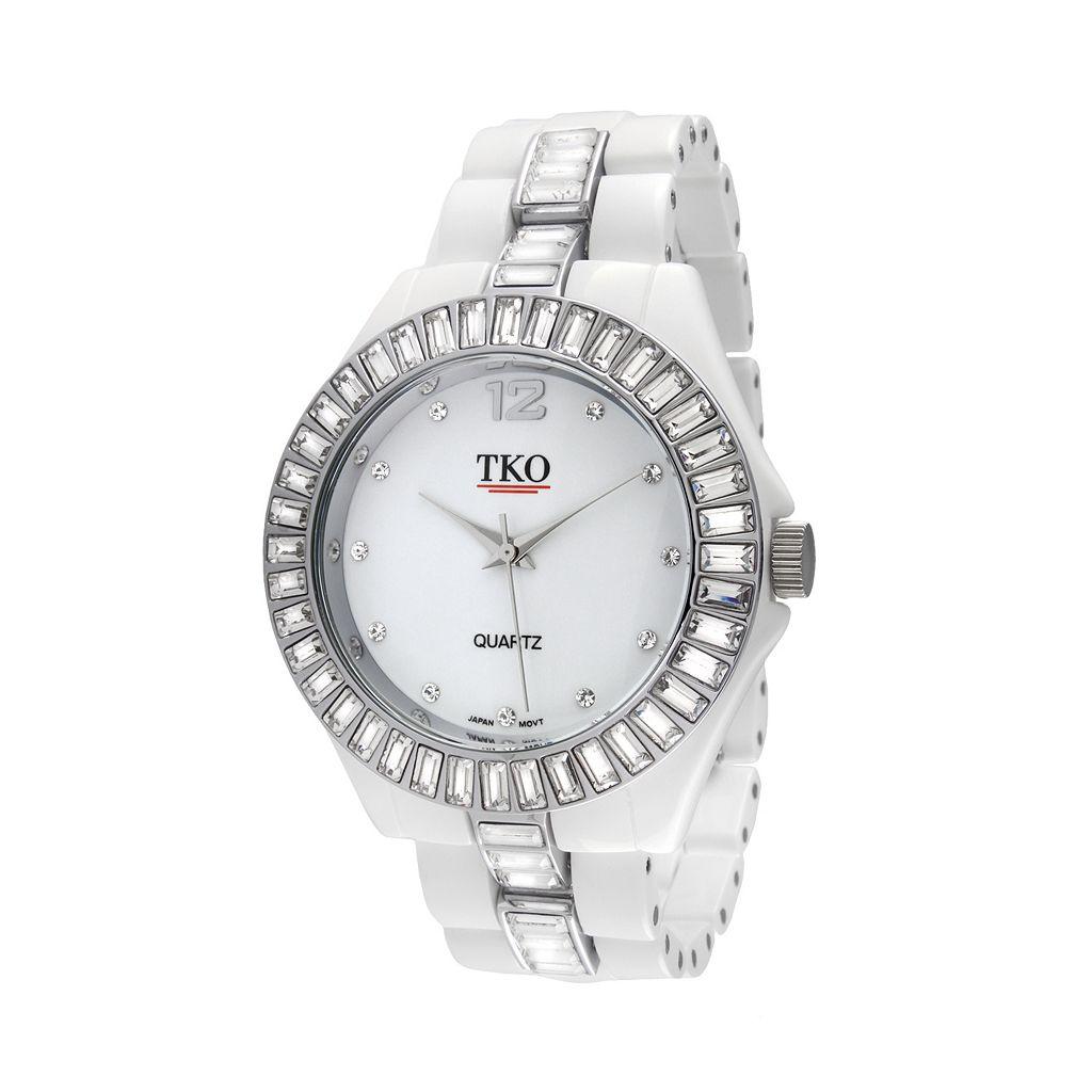 TKO Orlogi Women's Crystal Ceramix Watch