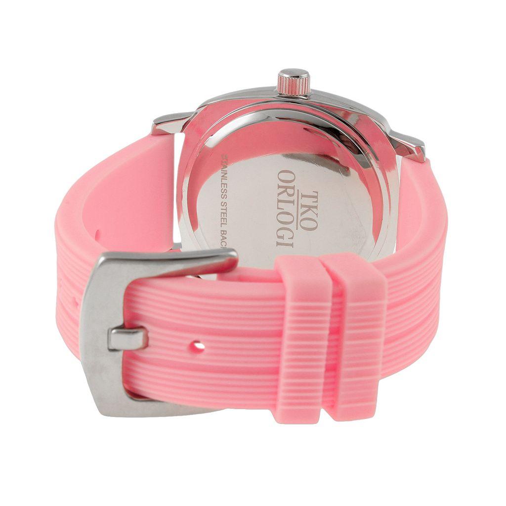 TKO Orlogi Women's Milano Breast Cancer Awareness Ribbon Watch