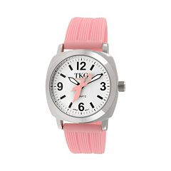 TKO Orlogi Women's Milano Breast Cancer Awareness Ribbon Watch