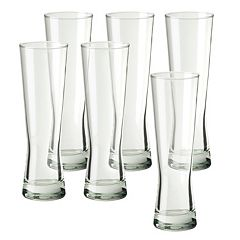 Amici by Global Amici Monaco 6 pc Tall Beer Glass Set