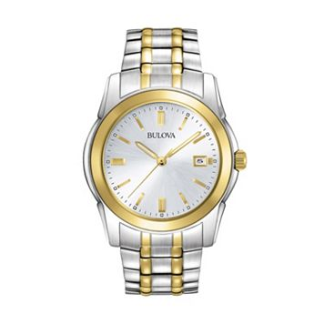 Bulova Men's Dress Two Tone Stainless Steel Watch - 98H18