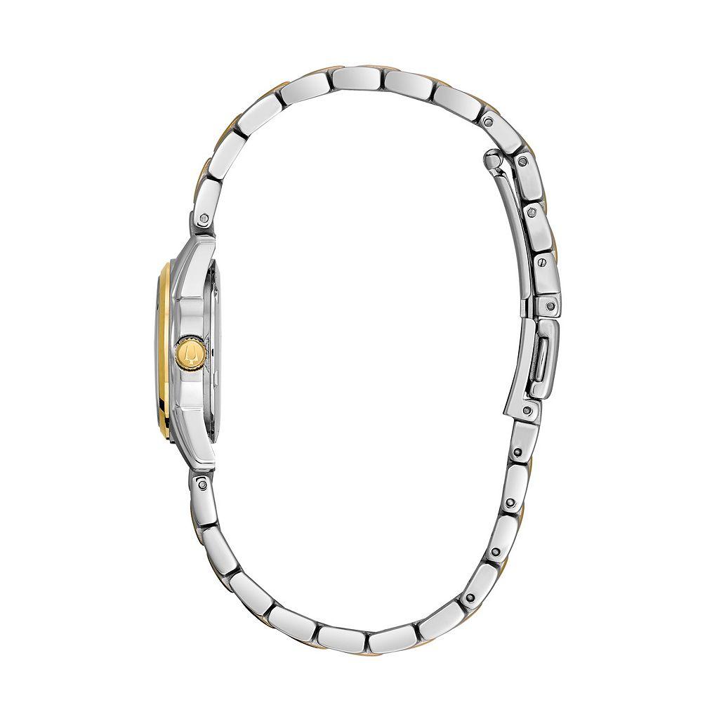 Bulova Women's Dress Two Tone Stainless Steel Watch - 98M105