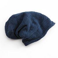 SIJJL Knit Slouchy Wool Beanie