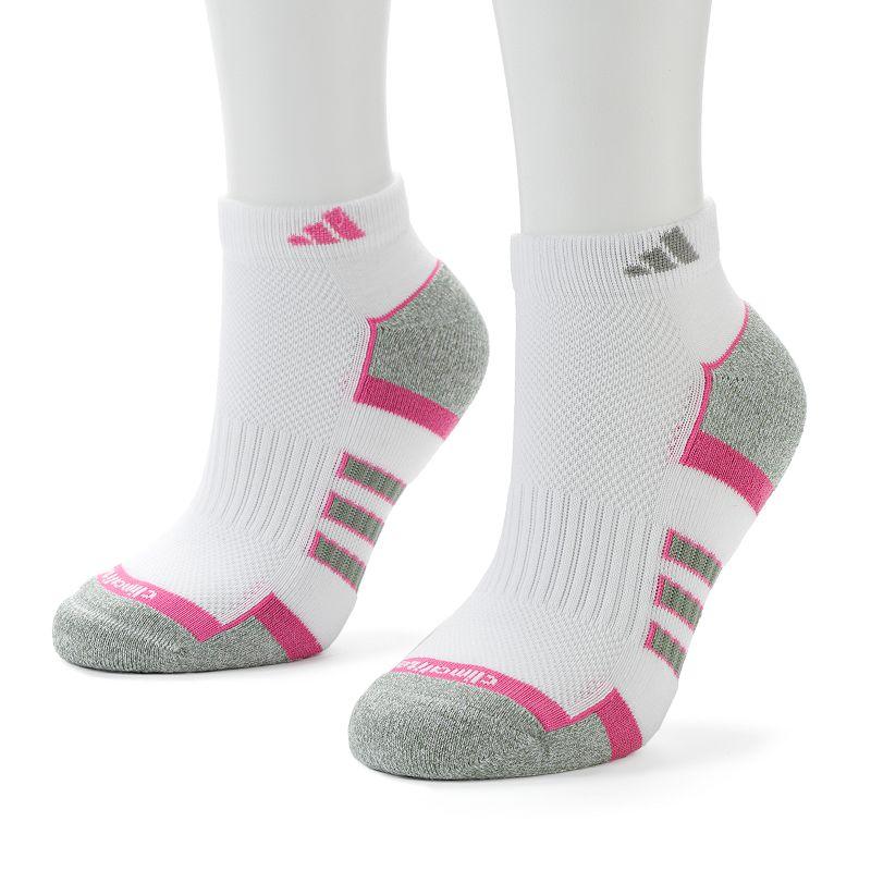 adidas 2-pk ClimaCool Arch Compression Low-Cut Socks - Women