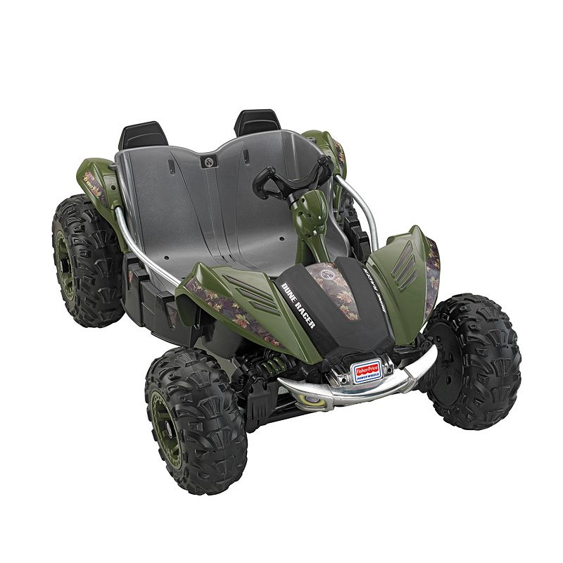 Power Wheels Camo Dune Racer Ride-On by Fisher-Price, Multicolor