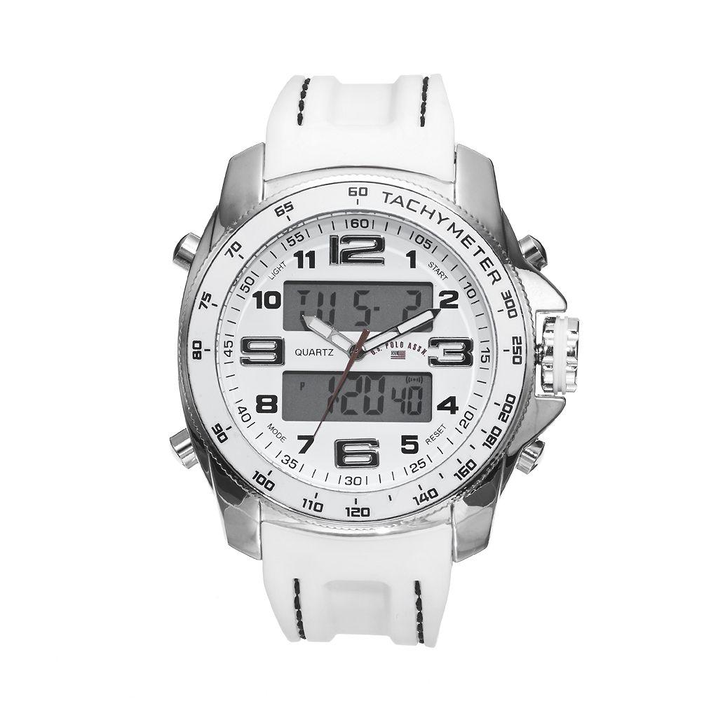 U.S. Polo Assn. Men's Analog & Digital Chronograph Watch - US9059B