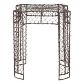 Safavieh Nadia Woven Wire Stool