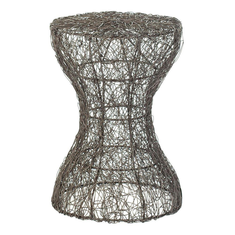 Safavieh Zig Zag Woven Wire Stool