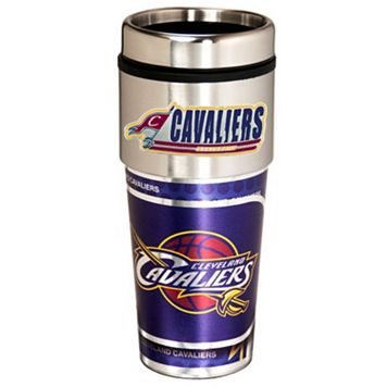 Cleveland Cavaliers Stainless Steel Metallic Travel Tumbler