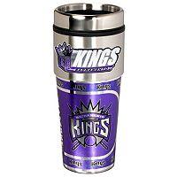 Sacramento Kings Stainless Steel Metallic Travel Tumbler