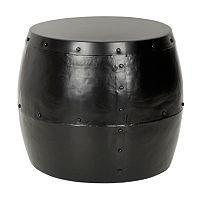 Safavieh Hogan Iron Drum Stool