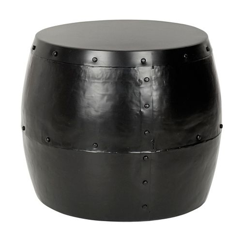 Safavieh Hogan Iron Drum Stool
