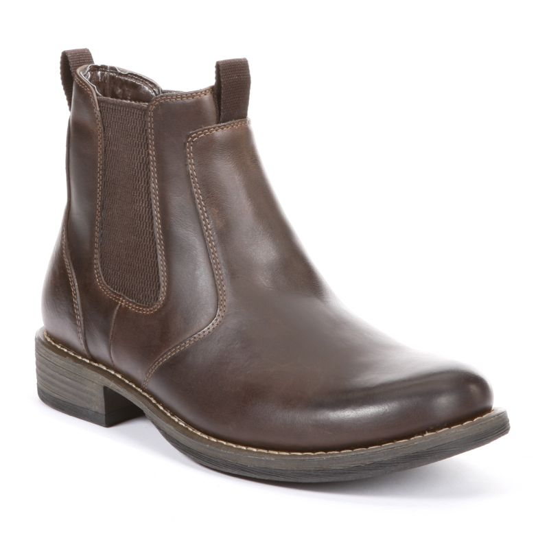 eastland daily leather ankle boots