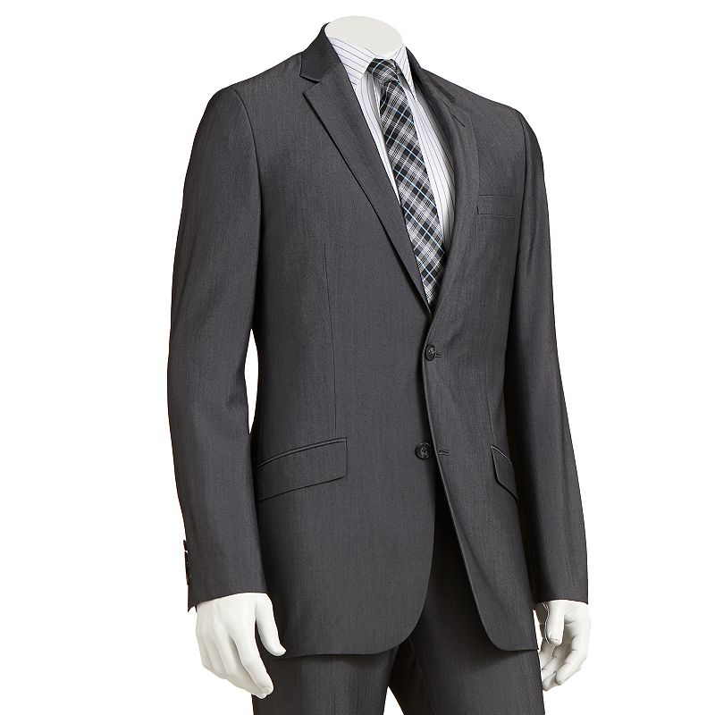 Apt. 9 Slim-Fit Gray Suit Coat - Men