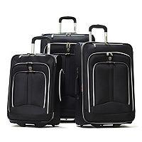 Olympia Hamburg 3 pc Wheeled Luggage Set