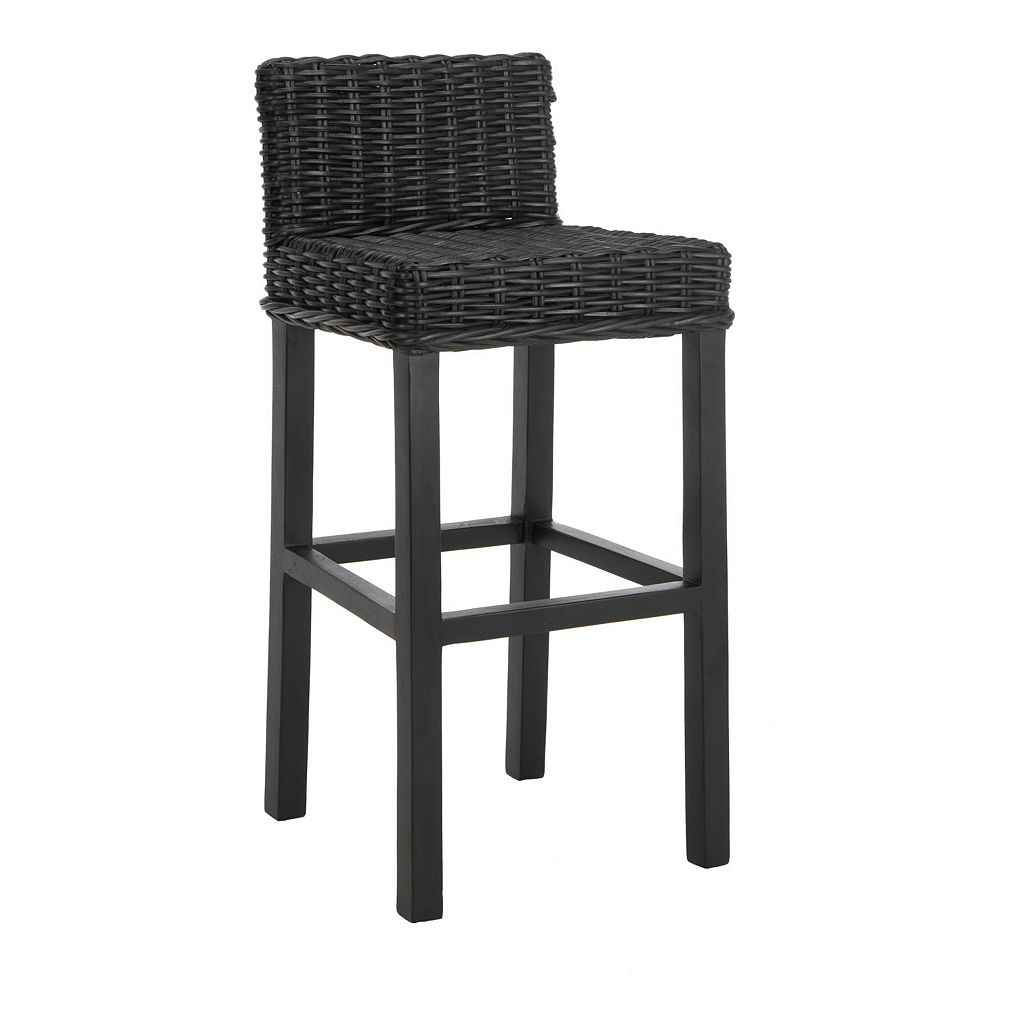 Safavieh Cypress Rattan Bar Stool