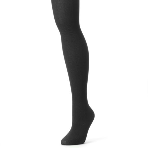 MUK LUKS Herringbone Tights