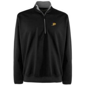 Men's Anaheim Ducks 1/4-Zip Leader Pullover