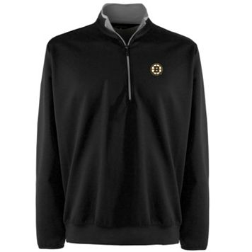 Boston Bruins 1/4-Zip Leader Pullover - Men