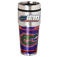 Florida Gators Stainless Steel Metallic Travel Tumbler