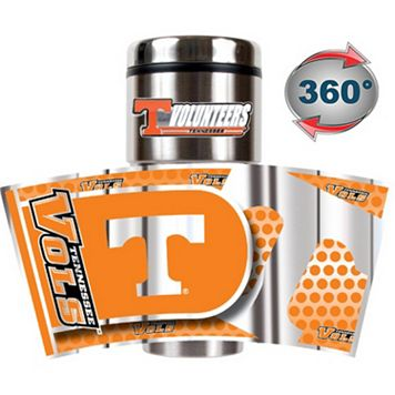 Tennessee Volunteers Stainless Steel Metallic Travel Tumbler