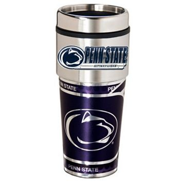 Penn State Nittany Lions Stainless Steel Metallic Travel Tumbler