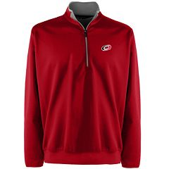Men's Carolina Hurricanes 1/4-Zip Leader Pullover