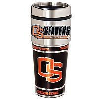 Oregon State Beavers Stainless Steel Metallic Travel Tumbler