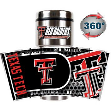 Texas Tech Red Raiders Stainless Steel Metallic Travel Tumbler