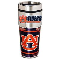 Auburn Tigers Stainless Steel Metallic Travel Tumbler