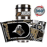 Purdue Boilermakers Stainless Steel Metallic Travel Tumbler